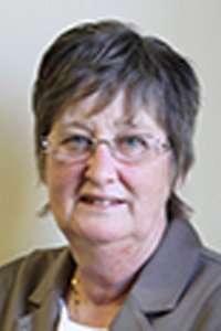 Leek Town Councillor Pam Wood
