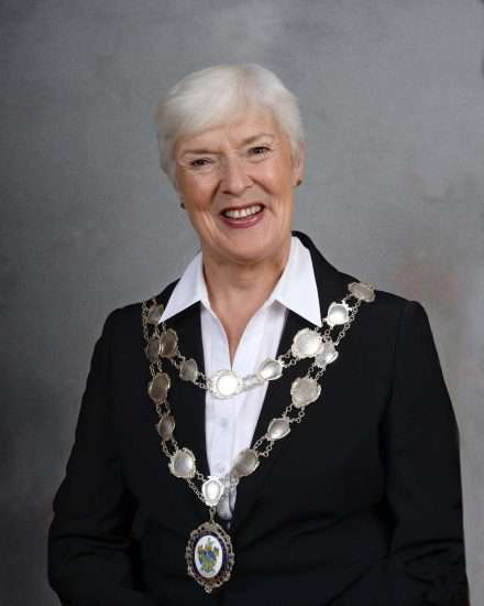 Leek Town Council Mayor Sue Coleman
