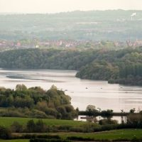 View of Leek from Tittesworth Reservoir by Chris Maynard
