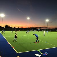 Hockey Club Juniors evening training by Andrew Spragg